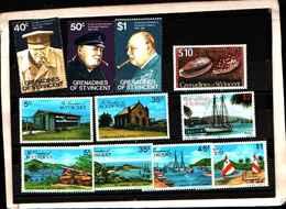 73323)  Grenadinesof SAN VINCENT-LOTTO FRANCOBOLLI -MNH** - St.Vincent E Grenadine