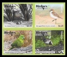 Tonga (Niuafo'ou) 2018 Mih. 668/71 Fauna. Birds. Philatelic Exhibition Birdpex In Luxembourg MNH ** - Tonga (1970-...)
