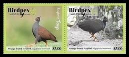 Tonga 2018 Mih. 2181/82 Fauna. Birds. Philatelic Exhibition Birdpex In Luxembourg MNH ** - Tonga (1970-...)