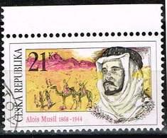 Tschechien 2008,, Michel# 567 O Explorers: Alois Musil (1868-1944) - Usados