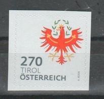 """Österreich 2018: """"WAPPEN- Tirol""""  Postfrisch (siehe Foto/Scan) - 2011-... Ungebraucht"""