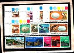73324)  Grenadinesof SAN VINCENT-LOTTO FRANCOBOLLI -MNH** - St.Vincent E Grenadine