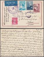 Turquie Entier Postal 1945 Censure Vers Iran (DD) DC-0577 - Turkey