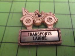 310a Pin's Pins / Beau Et Rare / THEME TRANSPORTS : TRANSPORTS LAIGNé VIEUX TACOT ANNEES 1910 - Transportation