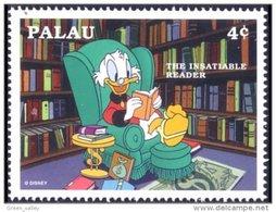 718 Disney Palau Education Reading Lecture Book Livre Picsou Scrooge MNH ** Neuf SC (PAL-15a) - Palau