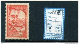 FRANCE LUXE ** N° 442 - Unused Stamps
