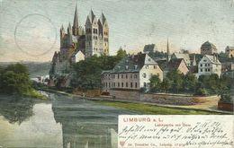 AK Limburg Lahnpartie & Dom Color 1904 #12 - Limburg