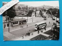 Berlin-Charlottenburg, Henriettenplatz, Strassenbahn, Bus, 1960 - Charlottenburg
