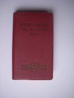 AGENDA DE 1961 - PUBLICITE MARTINI - 30 - NIMES - BAR DES TUILERIES - Mme Vve ROYER - Autres Collections