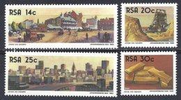 RSA  Yv 610/13, Centenaire De Johannesburg ** Mnh - Afrique Du Sud (1961-...)