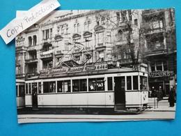 Berlin-Charlottenburg, Kurfürstendamm, Strassenbahn, 1960 - Charlottenburg