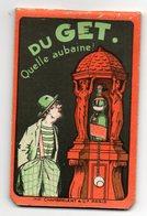 CARNET PUBLICITAIRE - PIPPERMINT GET - IMPRIMERIE CHAMBRELENT PARIS - Autres Collections