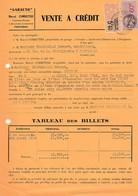 1939 - GARAUTO - Perpignan - VENTE A CRÉDIT D'une CITROËN 32U - Historical Documents