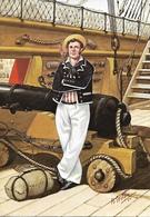 Bryan Fosten  -  Uniforms Of The Royal Navy : Gunner Of HMS Victory, 1805 - Uniformi
