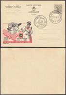 Publibel 1399 - 1F20 - Thématique Femme, Cochon, Casserole, Ducasse (DD) DC0562 - Stamped Stationery