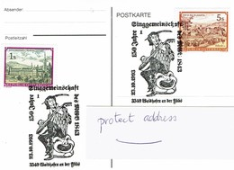 Music - Austria - Troubadour  - Minnesange - Postmark - Rused - Voyagée - 1993 - Musique