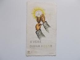 Devotieprentje: Communion Solonnelle De Rosa SIOEN , Hoogstade 24 Mai 1951 - Communion