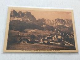 38 - SAINT ANDEOL Village De L'Eglise Rochers De La Balme écrite - Otros Municipios
