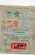 (32 Gers) Carte De Membre Des APP Du Gers (pêcheurs) 1968 Avec Timbres Fiscaux Taxe Piscicole (PPP15802) - Old Paper