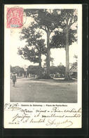 CPA Porto-Novo, Colonie Du Dahomey, Place De Porto-Novo - Postcards