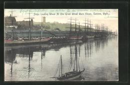AK Tacoma, WA, Ships Loading Wheat At The Great Wheat Ware House - Tacoma