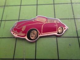 310c Pin's Pins / Beau Et Rare / THEME AUTOMOBILE : PETITE PORSCHE ROUGE ANNEES 50 - Porsche