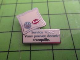310c Pin's Pins / Beau Et Rare / THEME AUTOMOBILE : SERVICE AUDI VAG OREILLER Par SOFREC - Audi