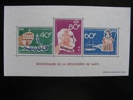Polynésie:  TB BF N° 1, Neuf XX. - Blocs-feuillets