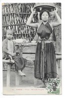 TONKIN  -  HANOÏ - Servante Indigène   -  L 1 - Vietnam