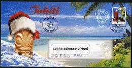 Lettre PRET-A-POSTER 1999 - Cachet De Tautira (Tahiti) - Prêt-à-poster