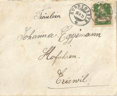 Brief  Dürrenroth - Eriswil             1923 - Cartas