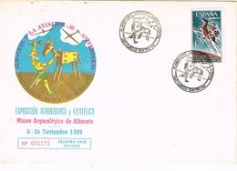 30362. Carta ALBACETE 1989. 50 Aniversario Aviacion. QUIJOTE - 1931-Hoy: 2ª República - ... Juan Carlos I