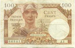 100 FRANCS OCCUPATION FRANCAISE EN ALLEMAGNE 1947 - Bons & Nécessité