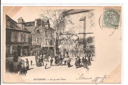 24 - EXCIDEUIL - La Grande Place. - France