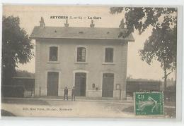 47 Lot Et Garonne Seyches La Gare Ed Mde Brune De Marmande - Andere Gemeenten