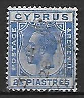 CHYPRE    -     1924 .   Y&T N° 94 Oblitéré - Cyprus (...-1960)