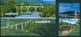 Croatia, Europa, Europe, 2018, 2 Stamps + Block - 2018