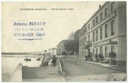 TOURNON (Ardèche)  - Hôtel De La Poste      Gb60 - Tournon