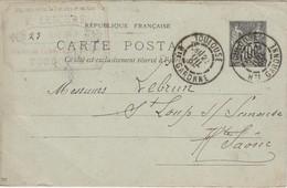 Carte Commerciale 1898 / Entier / F. LESCURE / Ameublement / 31 Toulouse - Maps