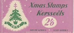 SOUTH AFRICA, 1952, Booklet B,  Christmas Stamps 1952 - Carnets