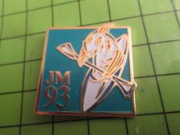 410e Pin's Pins / Beau Et Rare / THEME SPORTS : CANOE KAYAK JEUX MEDITERRANEENS 1993 - Canoë