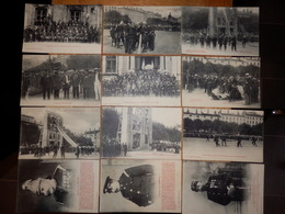 (31)    Série De 12 Cartes De Pompiers En Démonstration/Manoeuvre à LYON - Août 1908 - Sapeurs-Pompiers
