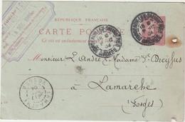 Carte Commerciale 1904 / Emmanuel LEON / 117 Cours Victor Hugo / 33 Bordeaux - Maps