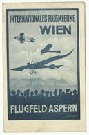 Flugmeeting Wien 23 - 30 Juni 2012, Carte Postale + Cachet Muller N° 18 - Briefe U. Dokumente