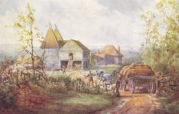 AQ01 Essenhigh Corke Social History Pc - Carting Hops To The Oasthouse - Other Illustrators