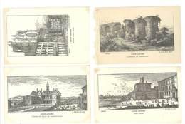 4 Cpa Vieux Lyon - Lyon Ancien, Aqueducs Chaponost, Saint Jean ..  ( S. 3141 ) - Lyon