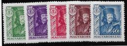 Hongrie N°468/472 - Neuf * Avec Charnière - TB - Neufs