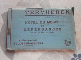 Carnet 8 Cpa Tervueren Hotel Du Musée Et Dépendances - Tervuren