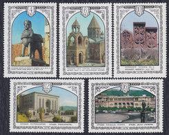 Russia USSR 1978 Armenian Architecture, MNH (**) Michel 4768-4772 - 1923-1991 USSR