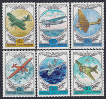 Russia USSR 1978 Aircrafts - Planes, MNH (**) Michel 4751-4756 - 1923-1991 USSR